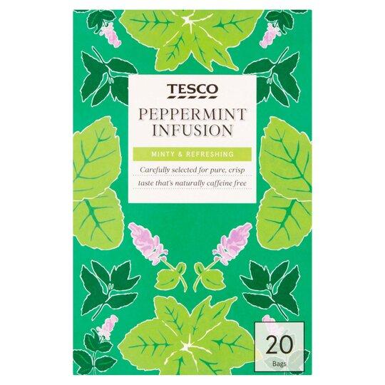 Tesco Peppermint Tea Bags 20'S 30G