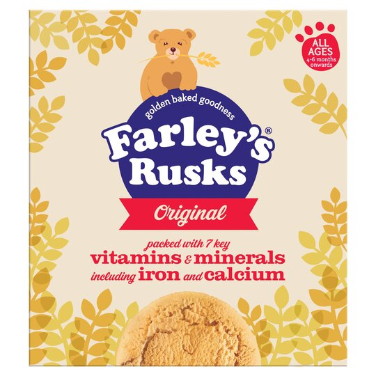 Farleys Rusks 4 Month Original X 18 300G