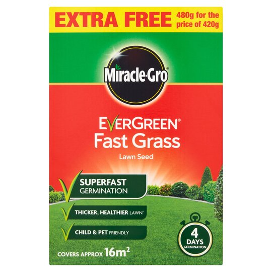 Evergreen Fast Acting Gr Seed 16m2