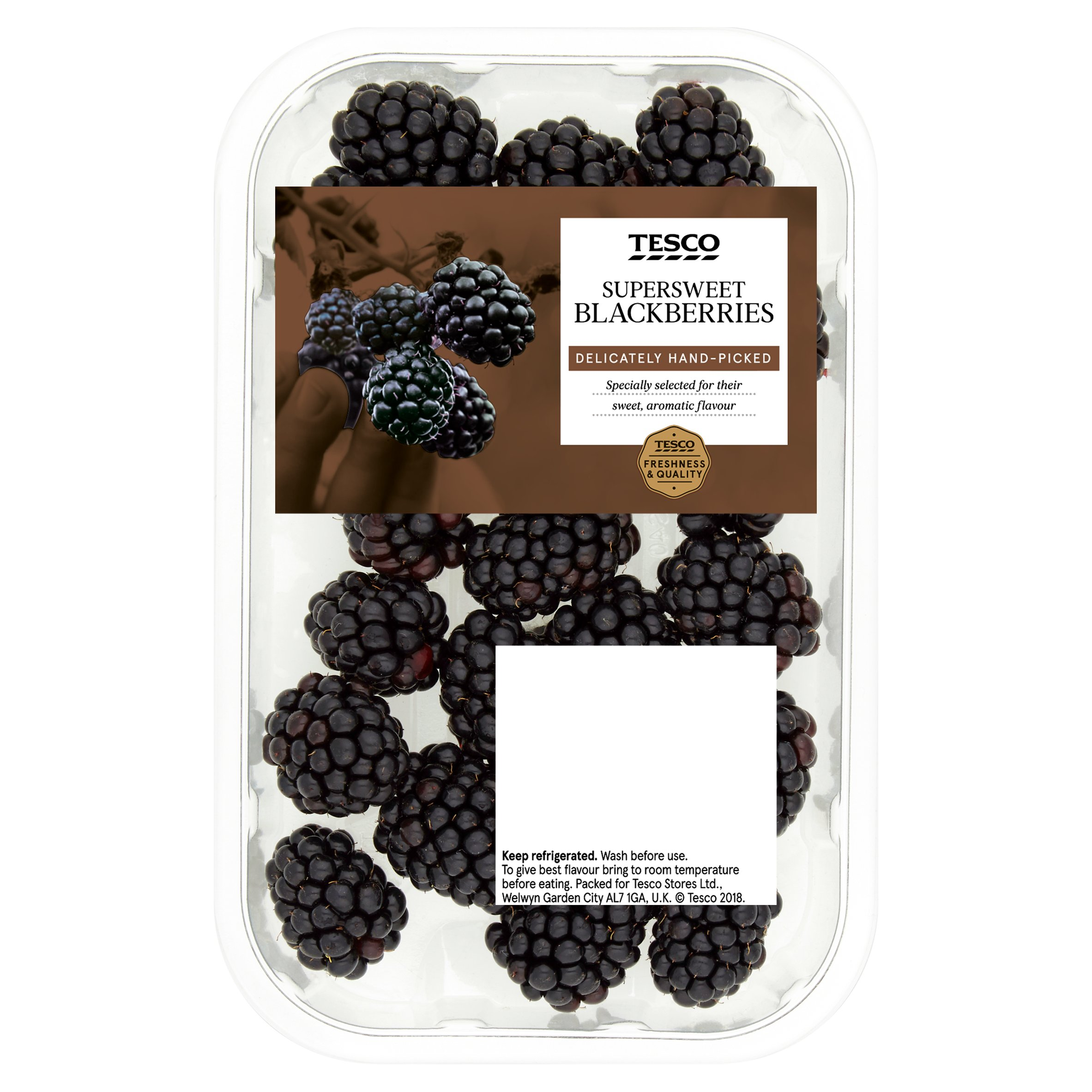 Tesco Blackberries 150G
