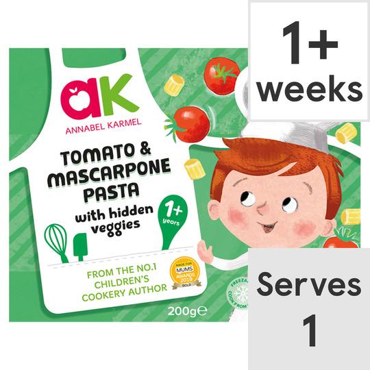image 1 of Annabel Karmel Tomato & Mascarpone With Vegetables 200G