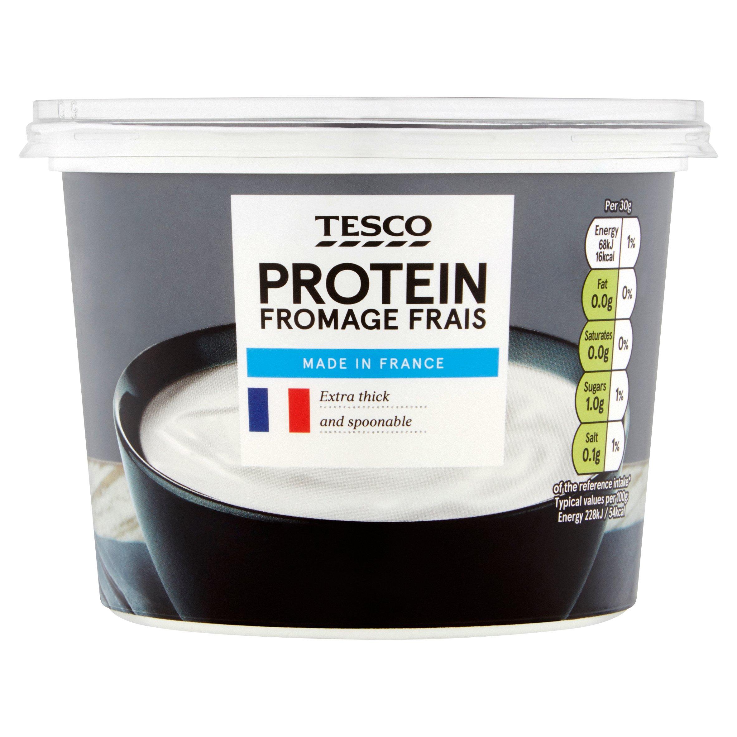 Tesco High Protein Fromage Frais 500G