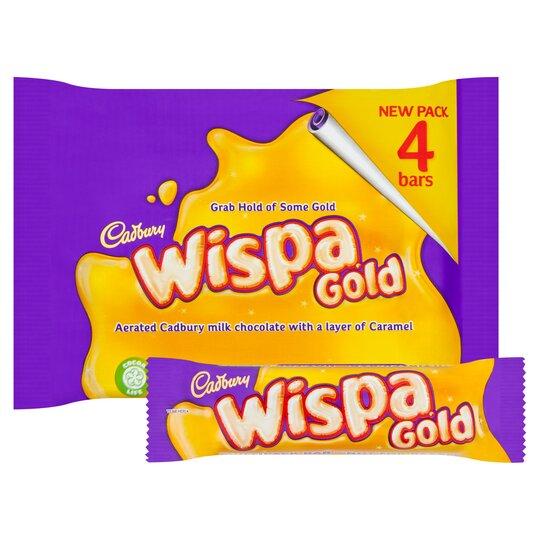 Cadbury Wispa Gold 4X41g