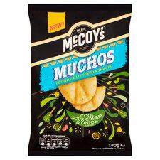 image 1 of Mccoy's Muchos Sour Cream & Onion 180G