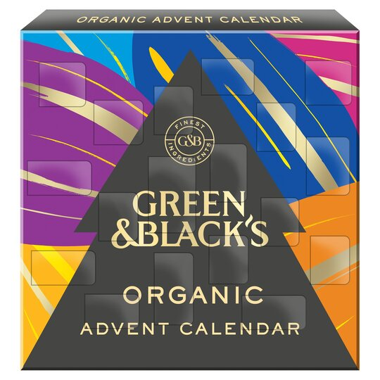 image 1 of Green & Black's Organic Advent Calendar 360G