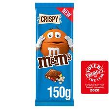 image 2 of M&M's Crispy Milk Chocolate Block 150G