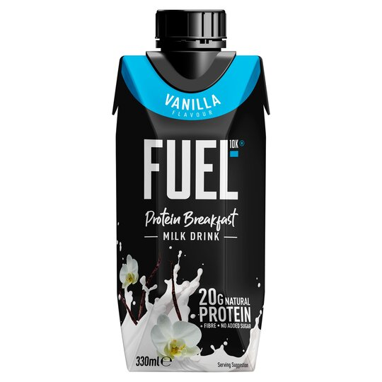 Fuel 10K Vanilla Liquid Breakfast 330Ml