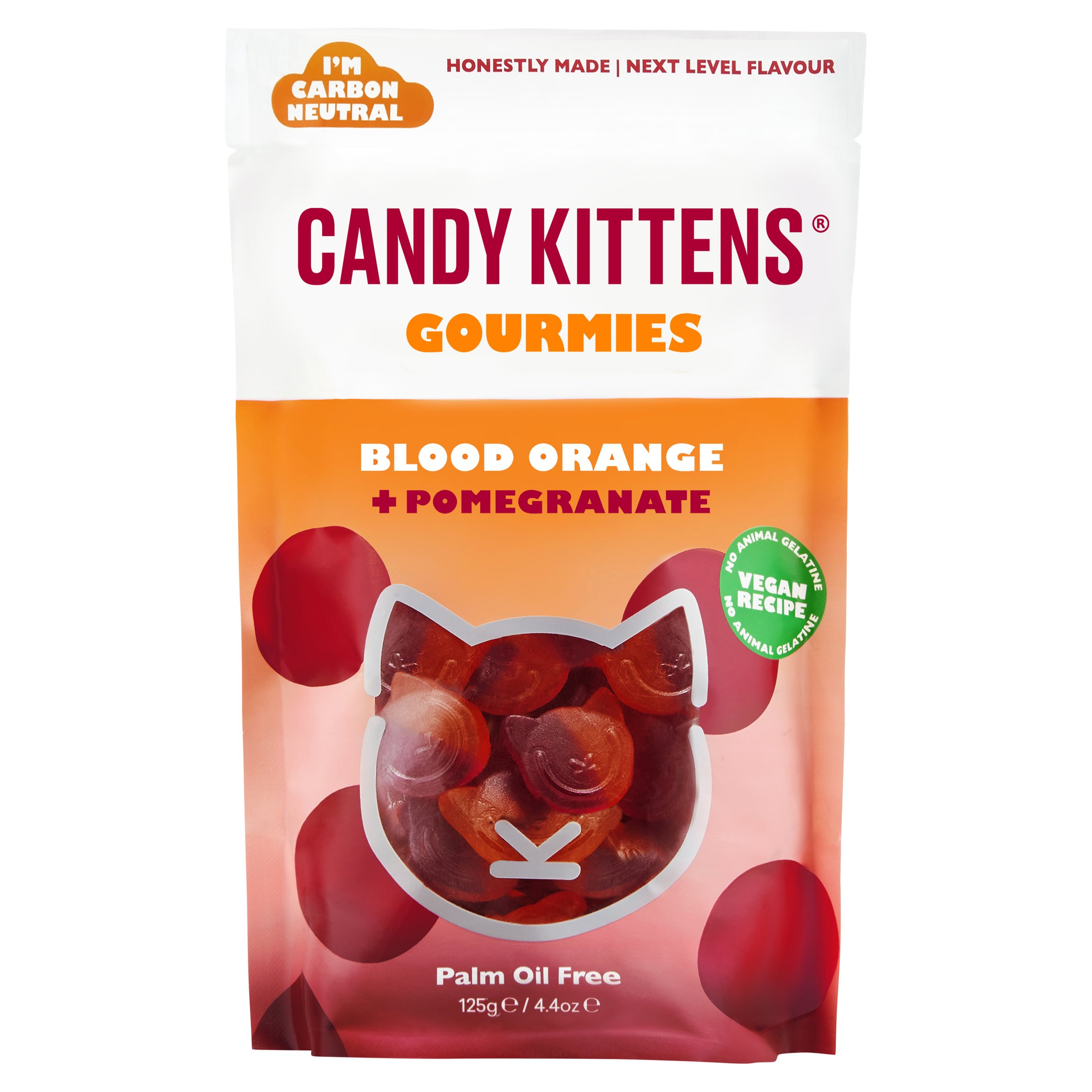 Candy Kittens Blood Orange & Pomegranate 125G