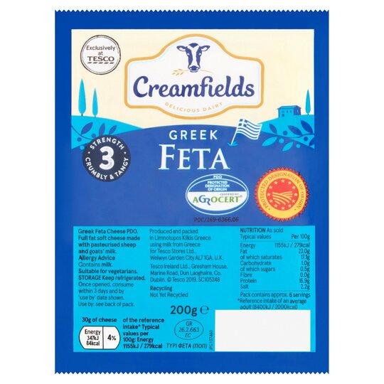 Creamfields Greek Feta 200G
