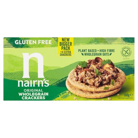 Nairn's Gluten Free Wholegrain Crackers 160G