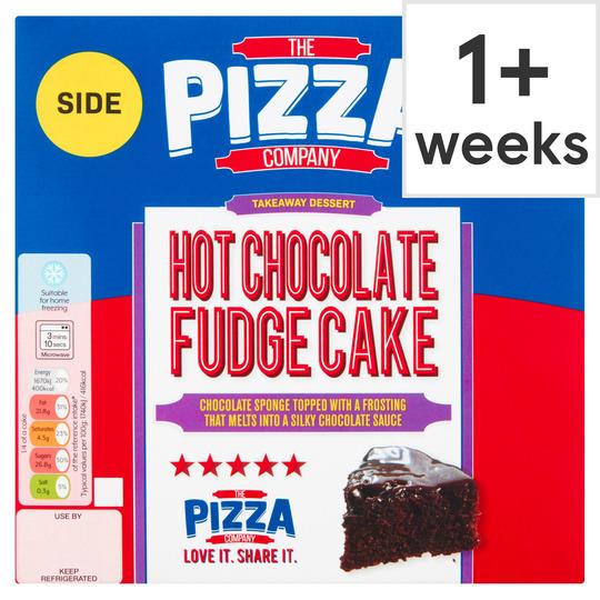 The Pizza Company Hot Chocolate Fudge Cake 385g