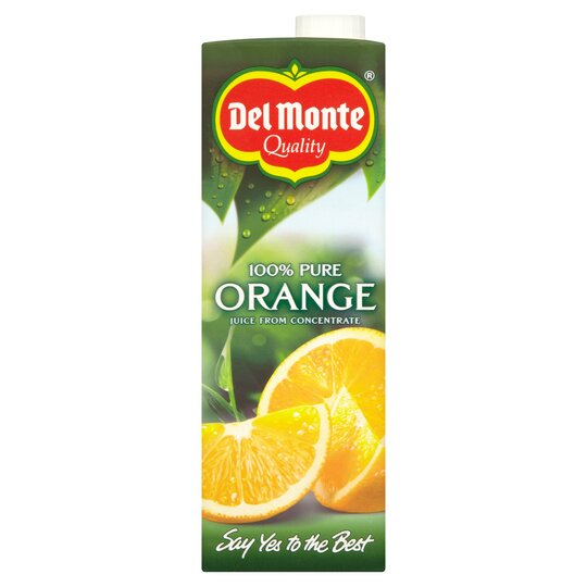 Del Monte Orange Juice Smooth 1 Litre