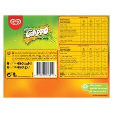 image 3 of Walls Calippo Mini Orange Lemon & Lime 6 X 80Ml