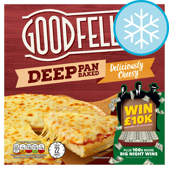 Goodfella's Deep Cheesy Pizza 421G