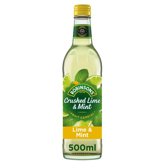 image 1 of Robinsons Cordials Lime & Mint 500Ml