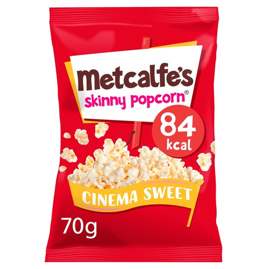 Metcalfe's Skinny Popcorn Cinema Sweet 70G