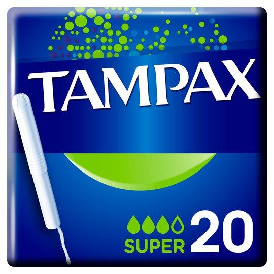 image 1 of Tampax Blue Box Super 20