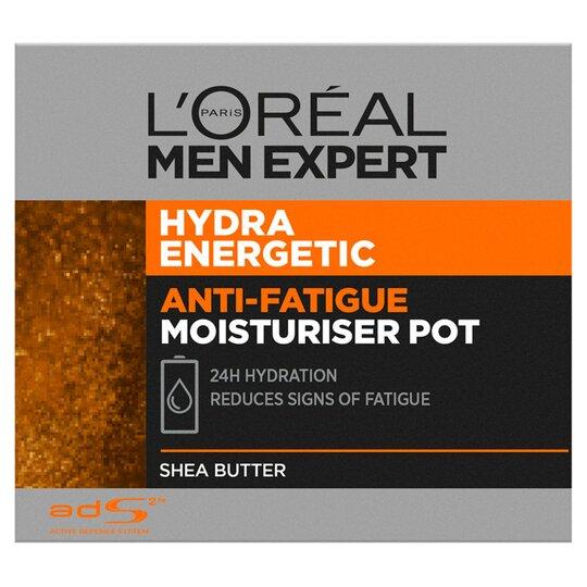 image 1 of L'Oreal Men Expert Hydrating Energetic Moisturiser 50Ml