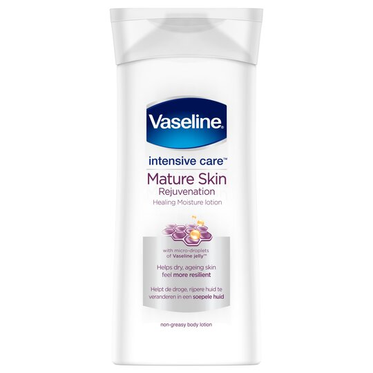 Vaseline Intensive Care Body Lotion Mature Skin 400ml Tesco Groceries