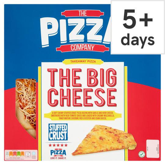 The Pizza Company Stuffed Crust The Big Cheese 588g
