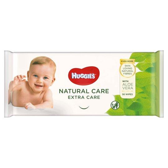 Huggies Baby Wipes Natrual Care 56 Pack