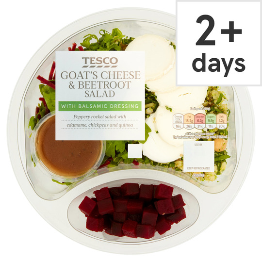 Tesco Beetroot & Goats Cheese Salad 260G