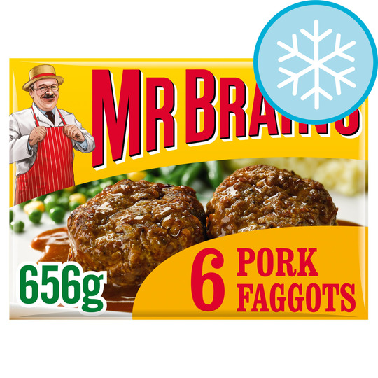 Mr. Brain's 6 Pork Faggots 656G