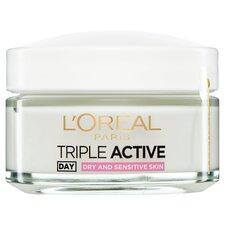 image 3 of L'oreal Paris Triple Active Day Dry Moisutriser 50Ml