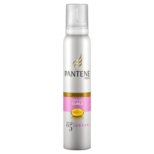 Pantene Pro V Defined Curls Mousse 200ml Tesco Groceries