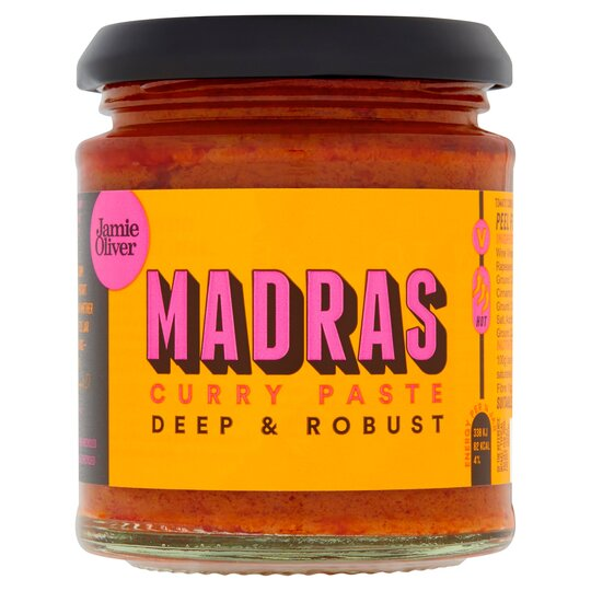 Jamie Oliver Madras Curry Paste 180G