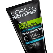 image 2 of L'oreal Men Expert Charcoal Face Scrub 100Ml