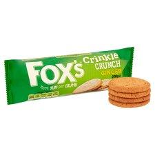 image 2 of Fox's Crinkles Ginger 200G