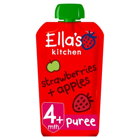 Ella's Kitchen Strawberries Plus Apples 120G