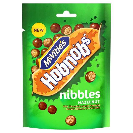 Mcvities Hobnob's Nibbles Hazelnut 120G