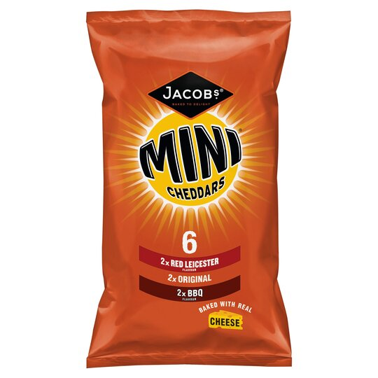 Jacobs Mini Cheddars Variety 6X25g