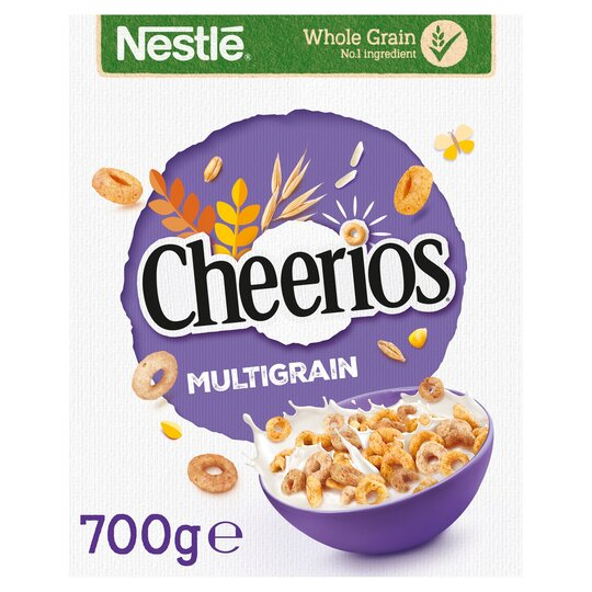 Nestle Cheerios Multigrain Cereal 700G