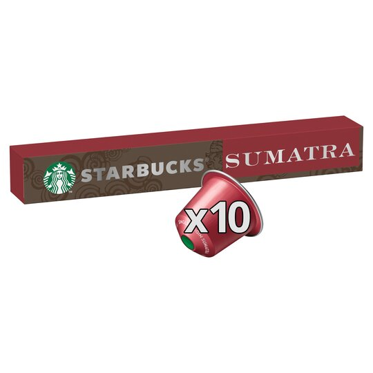 image 1 of Starbucks Sumatra Coffee Pods 10 Pack 55G