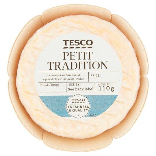Tesco Petit Tradition 110G