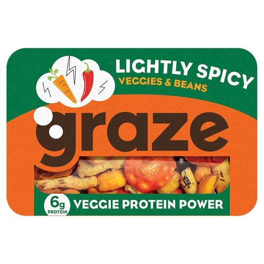 Graze Spicy Veggie Protein Punnet 32G