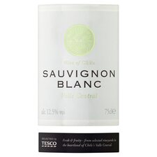 image 2 of Tesco Chilean Sauvignon Blanc 75Cl