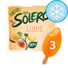 image 1 of Solero Exotic Ice Cream 3 X 90Ml