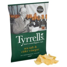 image 2 of Tyrrells Sea Salted & Cider Vinegar Crisps 150G