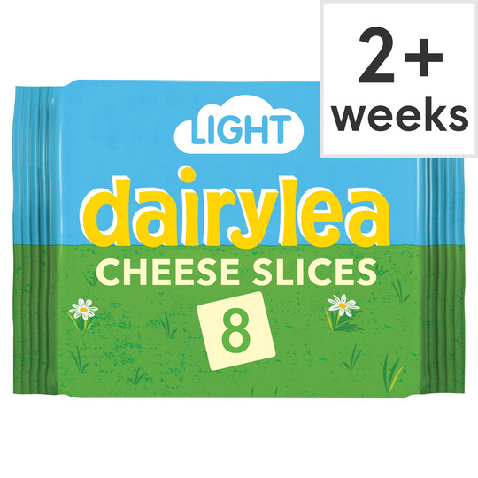 Dairylea Light Slices 8'S 200G