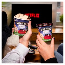 image 2 of Ben And Jerry's Netflix & Chilld Ice Cream 465Ml