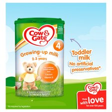 image 2 of Cow & Gate 4 Growing Up Milk Powder 2+ Years 800G