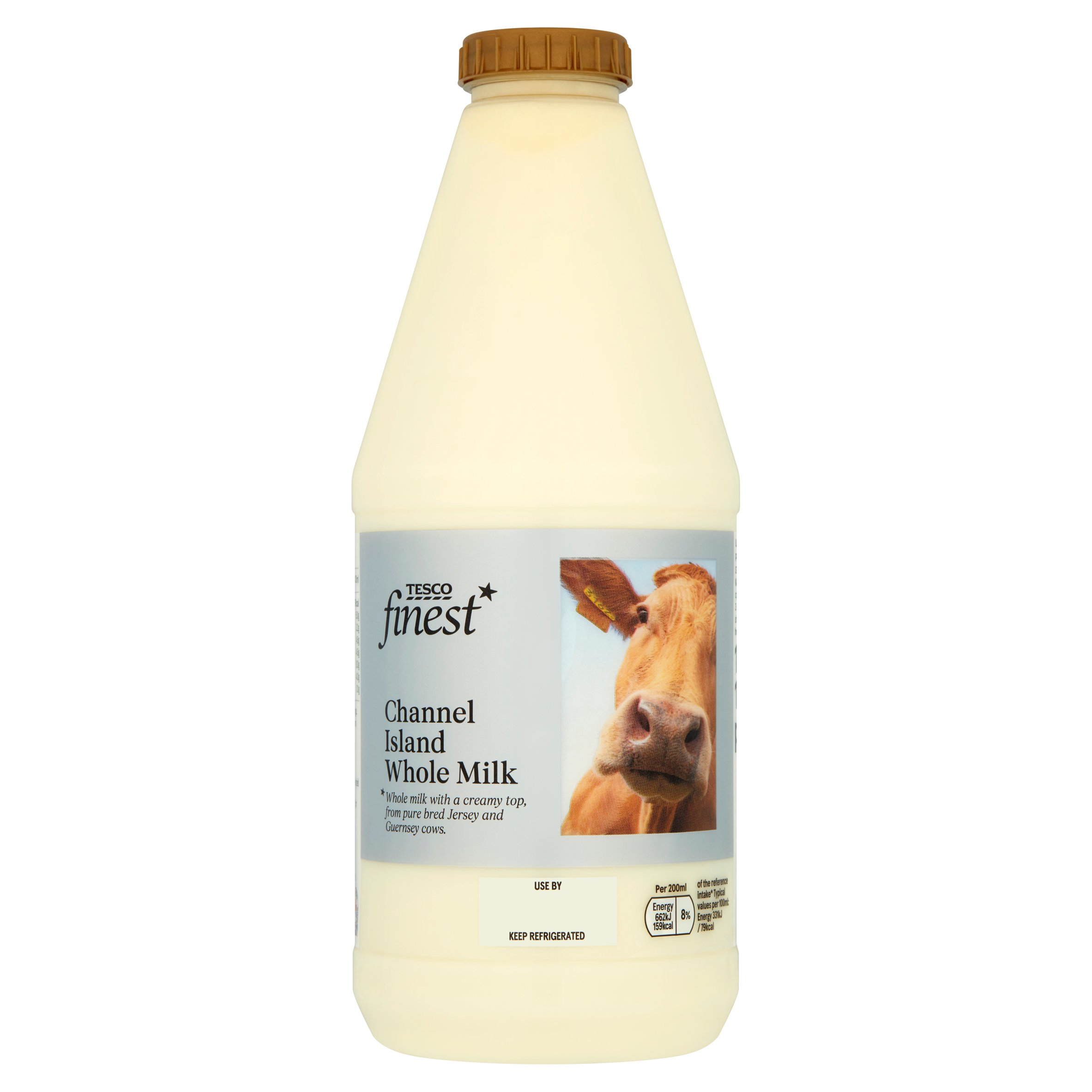 Tesco Finest Channel Island Milk 1L