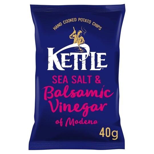Kettle Sea Salt & Balsamic Vinegarcrisps40g