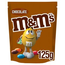 image 1 of M&M's Chocolate Pouch 125G
