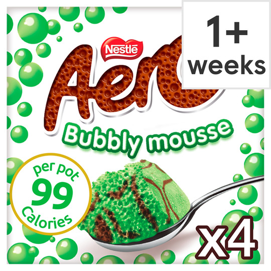 Aero Mint Chocolate Mousse 4X58g