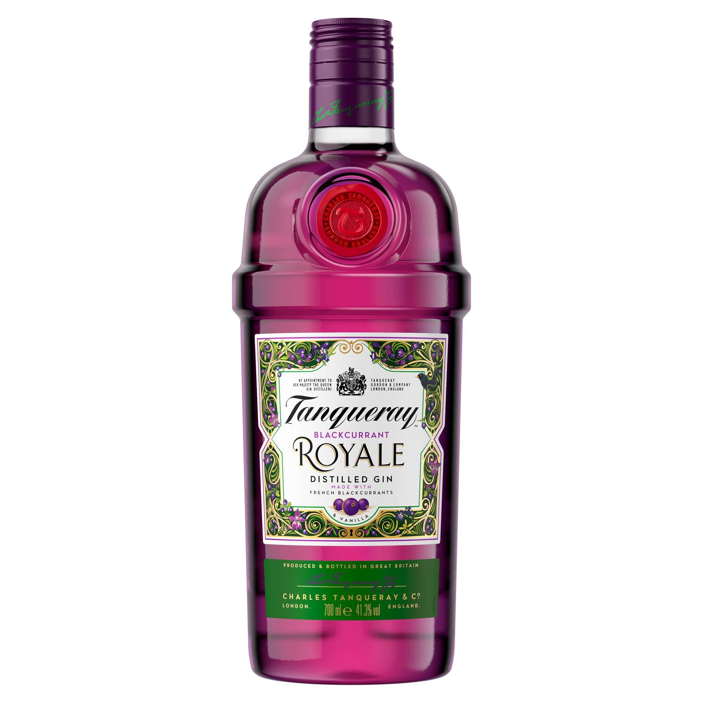 Tanqueray Blackcurrant Royale Distilled Gin 700Ml